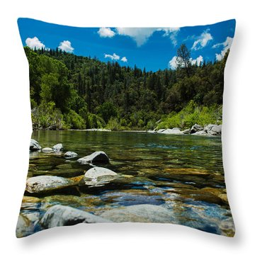 River Bottom Throw Pillow