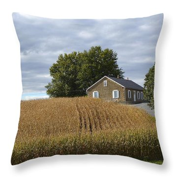 River Corner Mennonite Church Throw Pillow