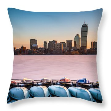 River Dream Throw Pillow