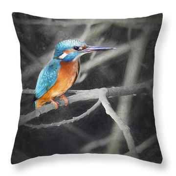River King Throw Pillow