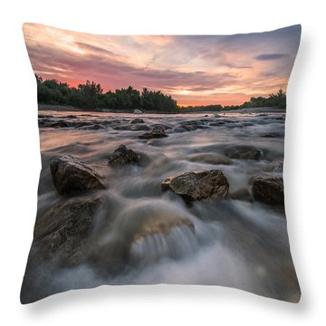 River Of Dreams Throw Pillow by Davorin Mance