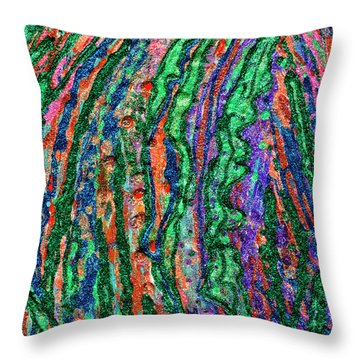 River Of Grass Throw Pillow