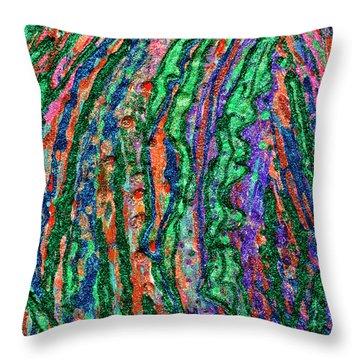 River Of Grass Throw Pillow