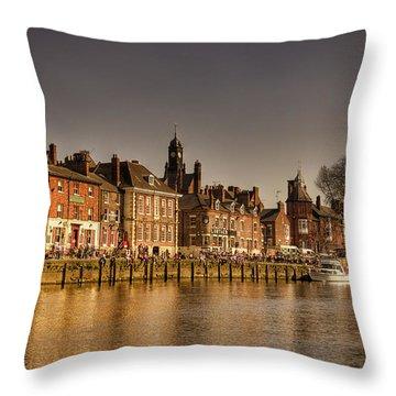 River Ouse Throw Pillow