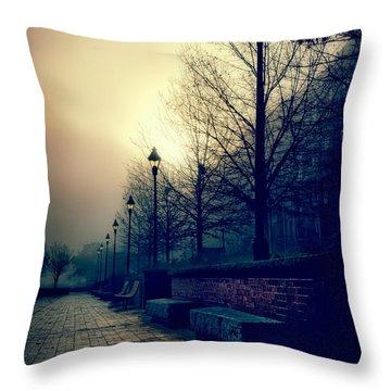 River Street Solitude Throw Pillow