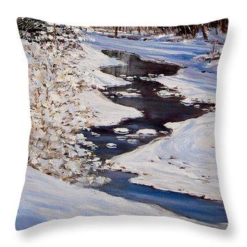 Riverbend Throw Pillow