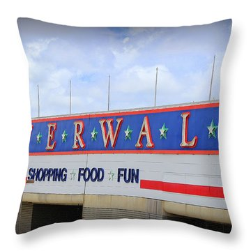 Riverwalk Throw Pillow by Beth Vincent