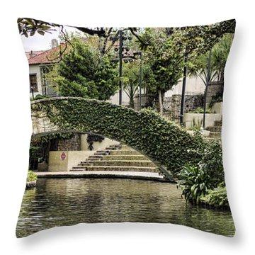 Riverwalk Charm Throw Pillow