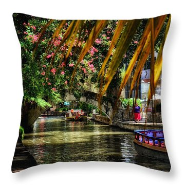 Riverwalk II Throw Pillow