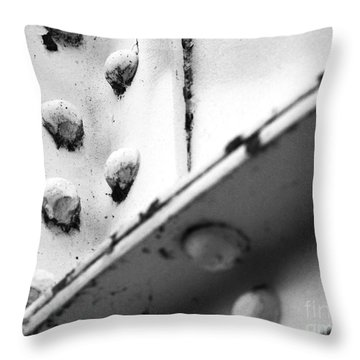 Riveting Throw Pillow