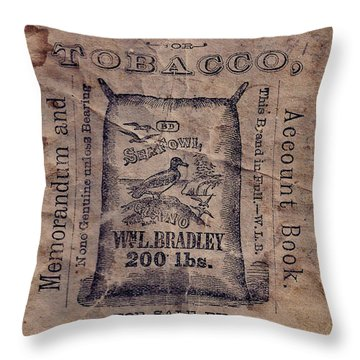 R.l.hickson Throw Pillow