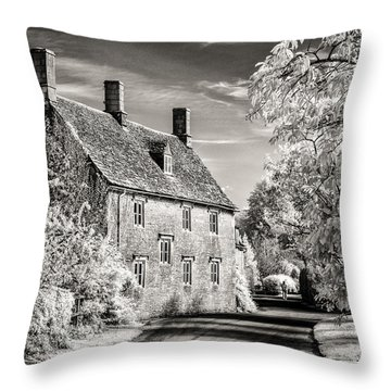 Road House Throw Pillow by William Beuther