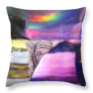 Throw Pillow featuring the photograph Road To Another Dimension by Martin Howard