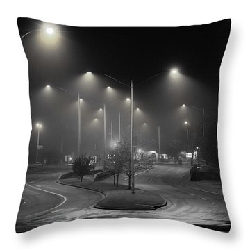 Road To Enlightenment Throw Pillow