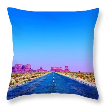 Road To Ruin 2 Throw Pillow