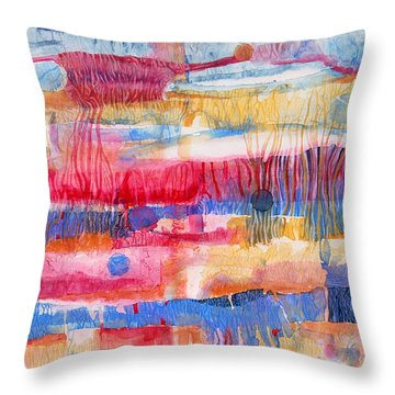 Road Trip Throw Pillow