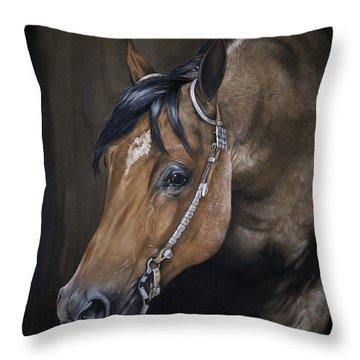 Western Pleasure Horse Throw Pillows