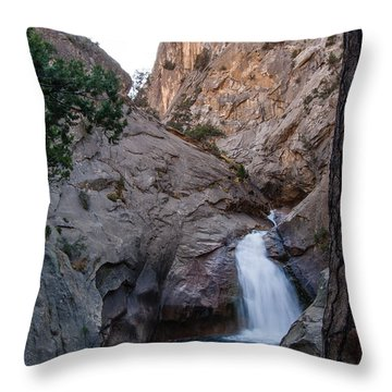 Roaring River Falls 1-7788 Throw Pillow