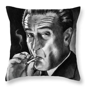 Robert De Niro Throw Pillow