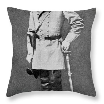Robert E Lee Throw Pillow by American School