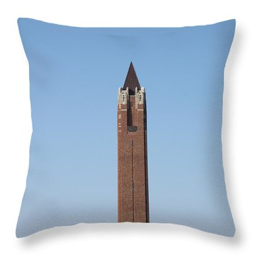 Robert Moses Tower At Jones Beach Throw Pillow