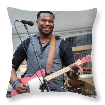 Robert Randolph  Throw Pillow by Fiona Kennard