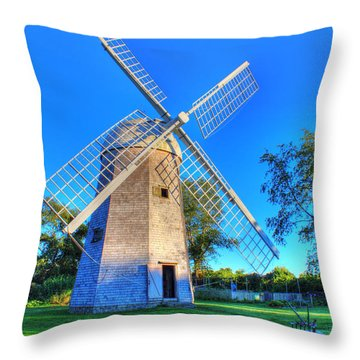 Robert Sherman Windmill Throw Pillow