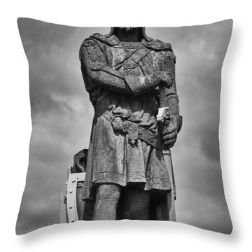 Robert The Bruce Throw Pillow