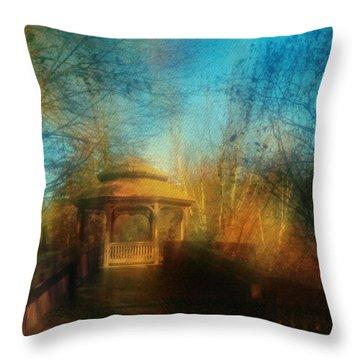 Robindro Throw Pillow by Floyd Menezes