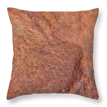 Rock Abstract #3 Throw Pillow