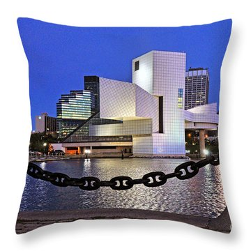 Rock And Roll Hall Of Fame - Cleveland Ohio - 1 Throw Pillow