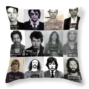 Elvis Presley Throw Pillows