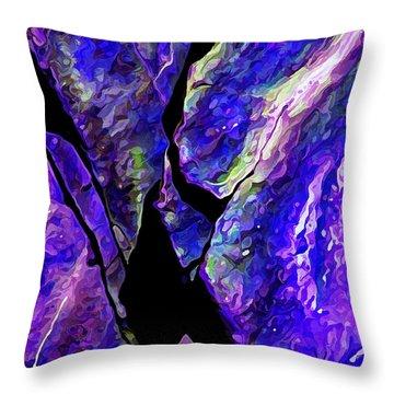 Rock Art 19 Throw Pillow