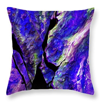 Rock Art 19 Throw Pillow