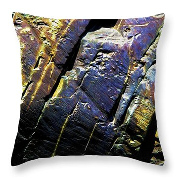 Rock Art 9 Throw Pillow