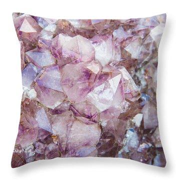 Rock Beauty Throw Pillow