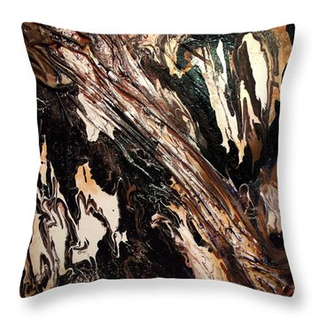 Rock Formation 1 Throw Pillow