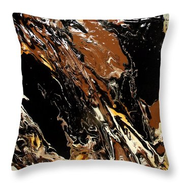 Rock Formation 2 Throw Pillow