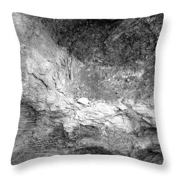 Rock Grain Throw Pillow