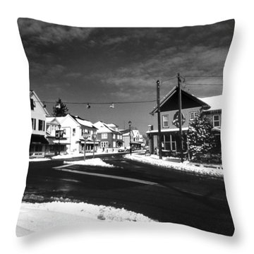 Rock Hall Maryland Throw Pillow by Skip Willits