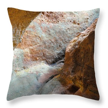 Rock Light Throw Pillow