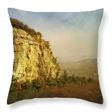 Rock Of Ages Throw Pillow by A New Focus Photography
