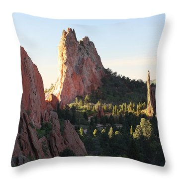 Rock Of Ages Throw Pillow by Eric Glaser
