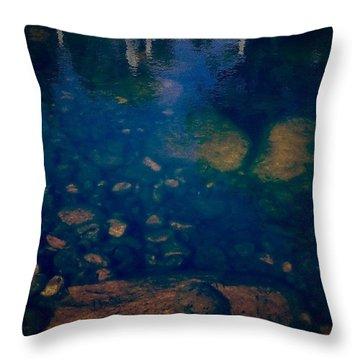 Rock Protoplasm Throw Pillow