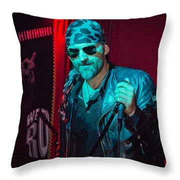 Rock Service II Throw Pillow