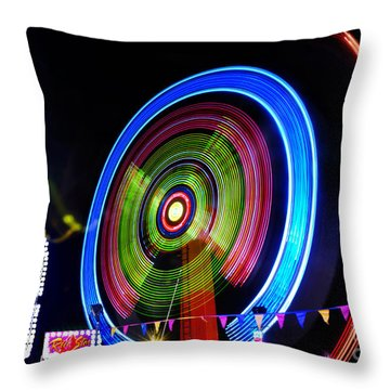 Rock Star - New Year's Eve 2012 Throw Pillow by Kaye Menner
