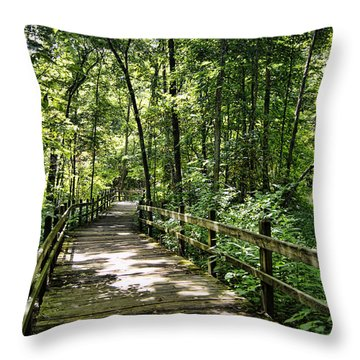 Rockbridge Summer Throw Pillow