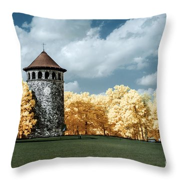 Rockford Tower Throw Pillow