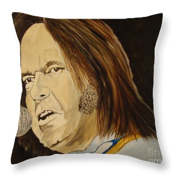 Rockin The Free World Forever Throw Pillow by Stuart Engel