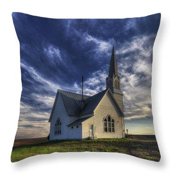 Rocklyn Zion German Methodist Church Throw Pillow
